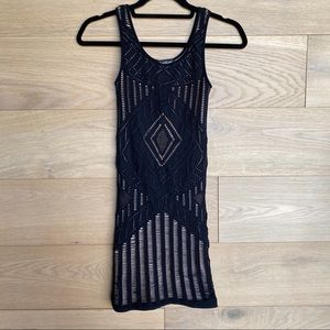 Bebe Fishnet Dress